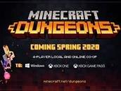 Minecraft Dungeons se dévoile avec de furieux airs de hack'n'slash