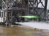Blue Moon : Blue Origin mise à feu statique réussi pour le moteur BE-7