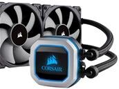 Watercooling AiO Corsair H150i PRO RGB (360 mm) à 134,96 euros
