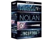 Coffret 3 films Christopher Nolan en Ultra HD Blu-ray à 22,49 €