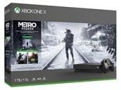 Xbox One X de Microsoft avec la saga Metro Exodus à 349,99 euros