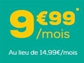 Forfait illimité avec 30 Go de 4G pour 9,99 € par mois chez La Poste Mobile