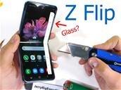 JerryRigEverything torture le Galaxy Z Flip et plus particulièrement son écran