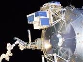 Station spatiale internationale : la plateforme (commerciale) Bartolomeo est amarrée au module Columbus