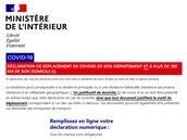 Attestation de déplacement : le gouvernement met à jour ses formulaires et le générateur