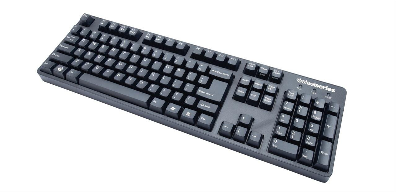 Clavier mécanique SteelSeries 6GV2 (MX Black) à 39,80 euros