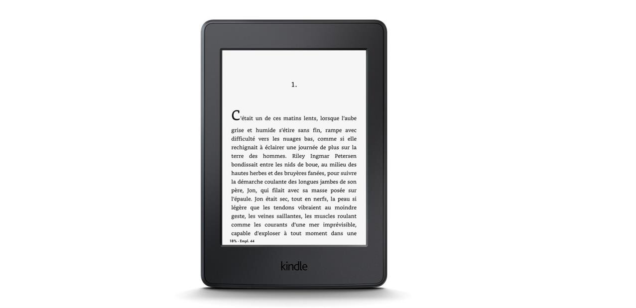 Une liseuse Kindle Paperwhite pour 99,99 €, la version 3G à 159,99 €