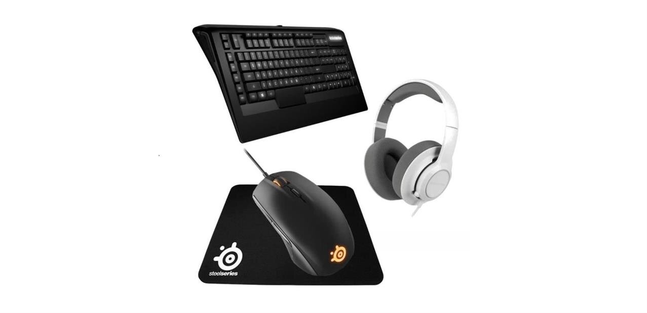 Pack Steelseries clavier, souris, casque et Far Cry Primal : 99,99 €
