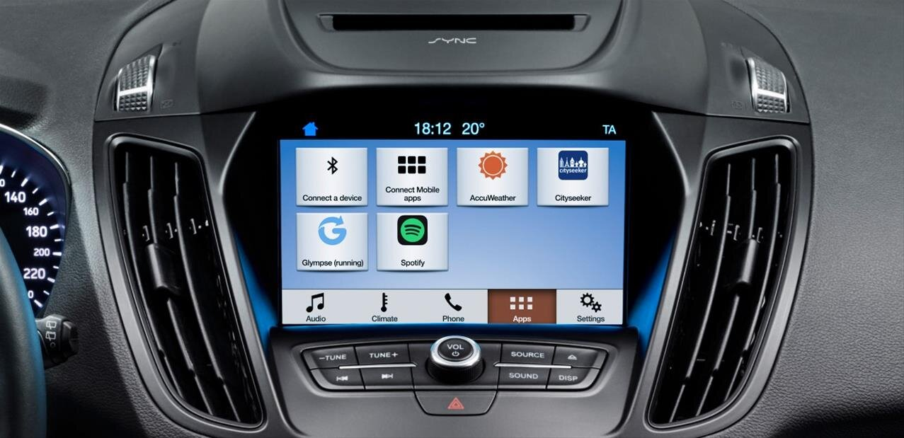 voitures connect es ford sync 3 compatible android auto. Black Bedroom Furniture Sets. Home Design Ideas