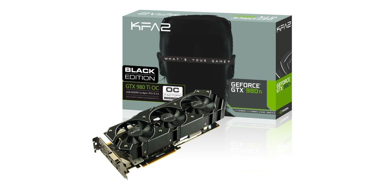 Carte graphique GeForce GTX 980 Ti de KFA² à 569,90 €