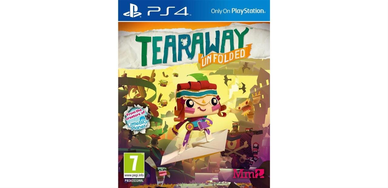 Tearaway Unfolded sur PS4 à 9,99 euros