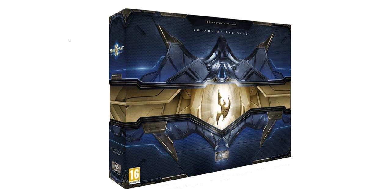 Starcraft II : Legacy of the Void collector à 49,99 €