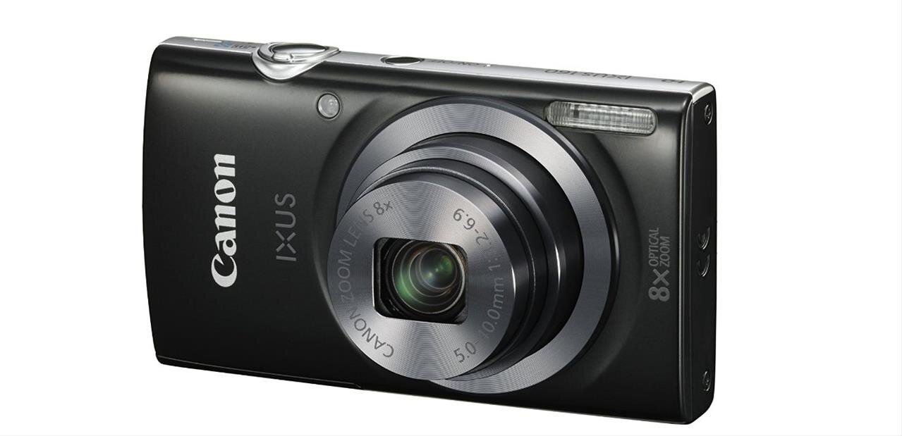 Appareil photo Canon IXUS 160 (20 Mpx) : 69,98 euros