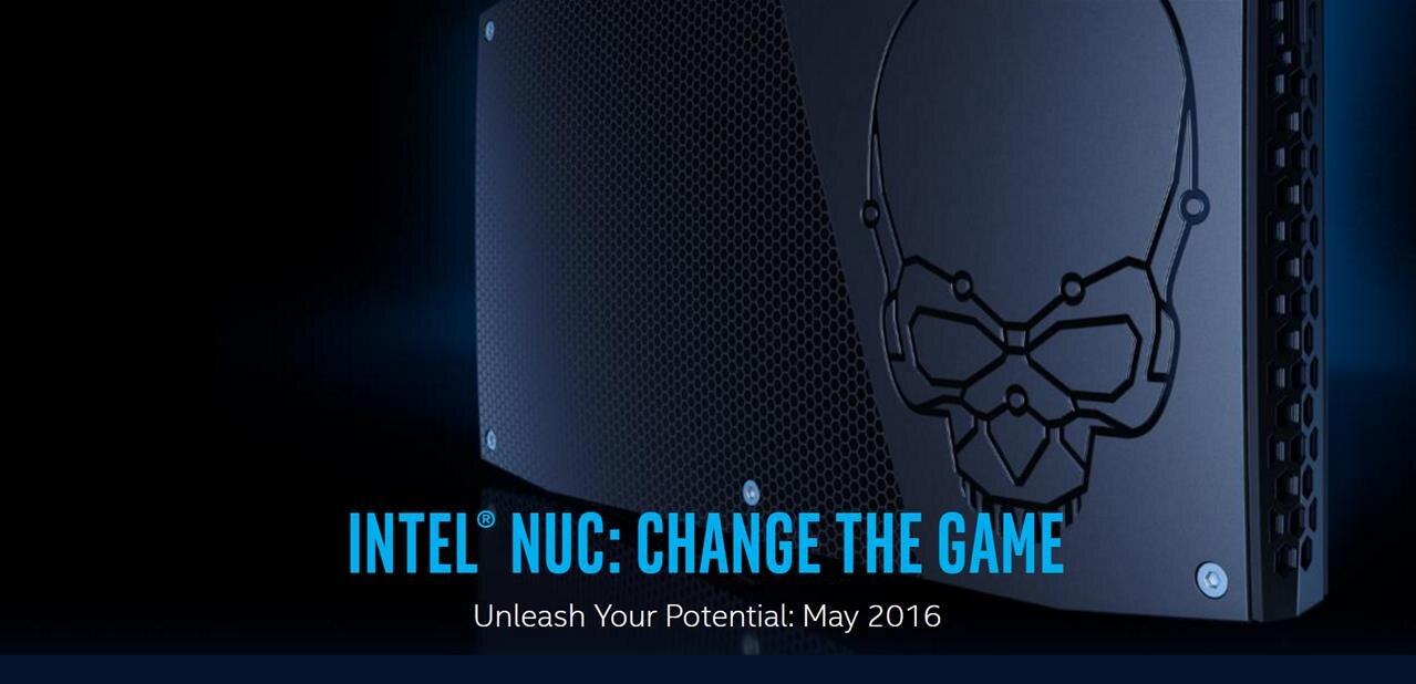 Le futur des NUC en fuite (roadmap jusqu'en 2019)
