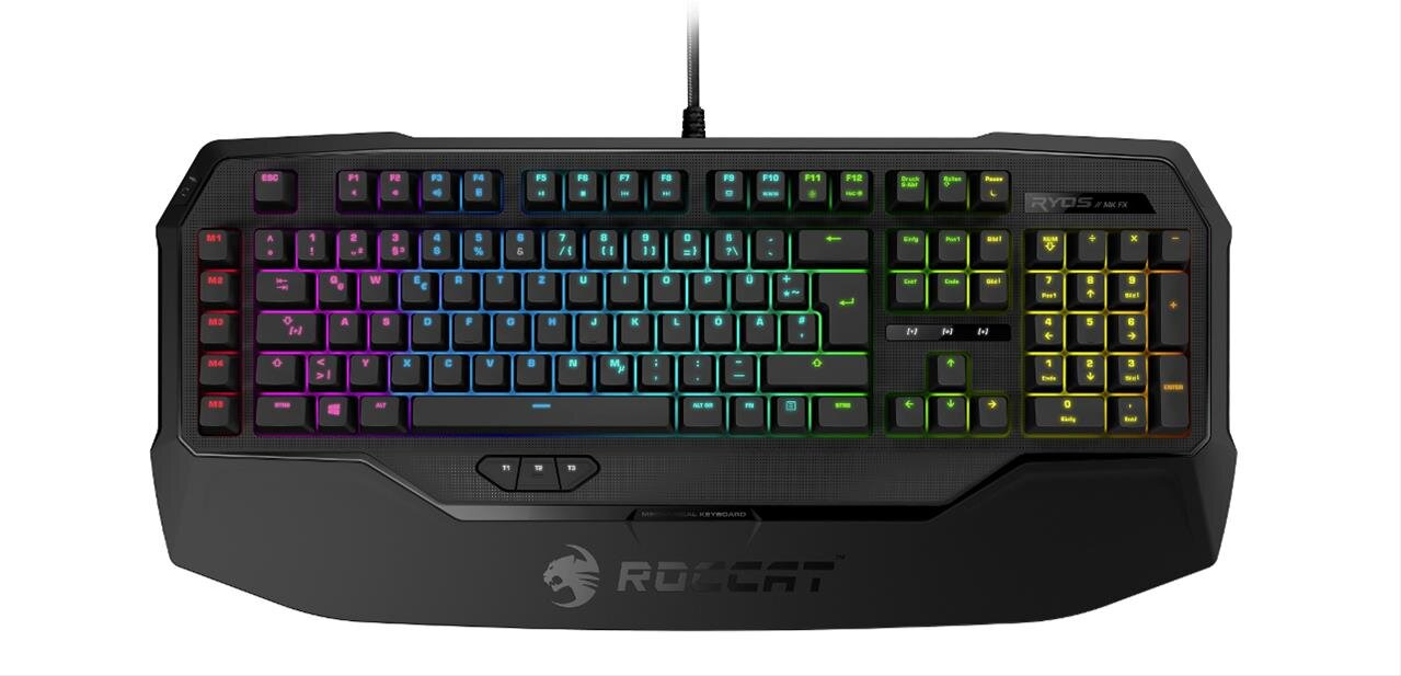 Clavier mécanique Roccat Ryos MK FX RGB (Cherry MX Brown) : 127,43 €