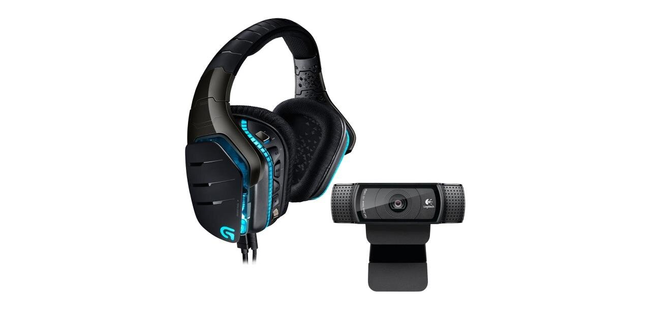 Casque micro Logitech G633 et webcam C920 Refresh : 202,95 €