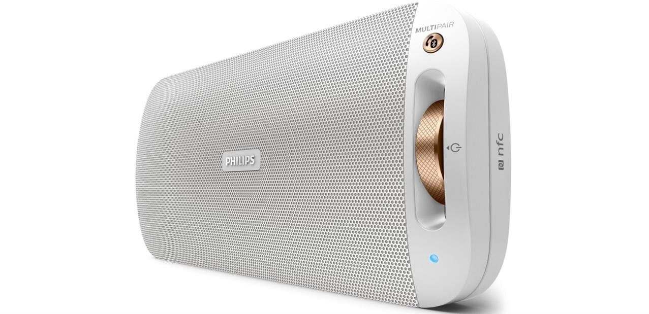 Enceinte Bluetooth Philips BT3600 (10 W, NFC) à 54,99 €