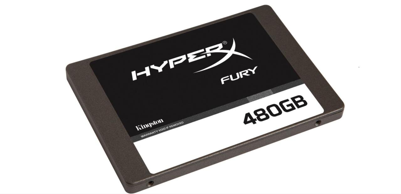 Un SSD Kingston HyperX Fury de 480 Go : 114,99 €