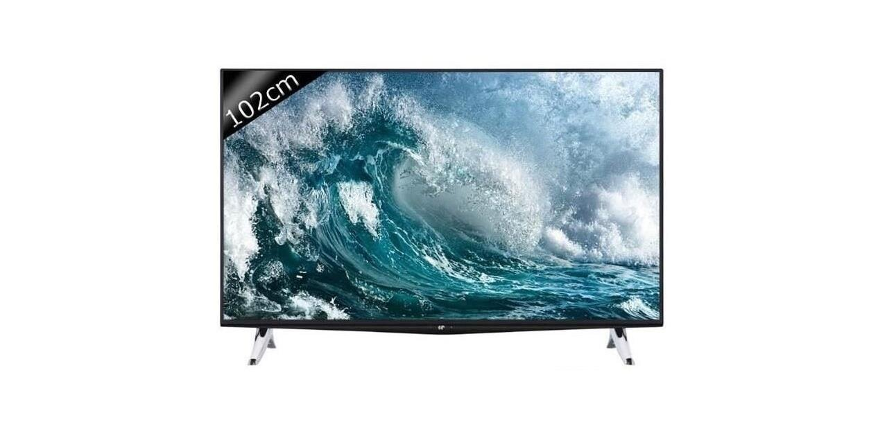 "Smart TV Continental Edison  40K0316B3 de 40"" (4K UHD) : 299,99 €"