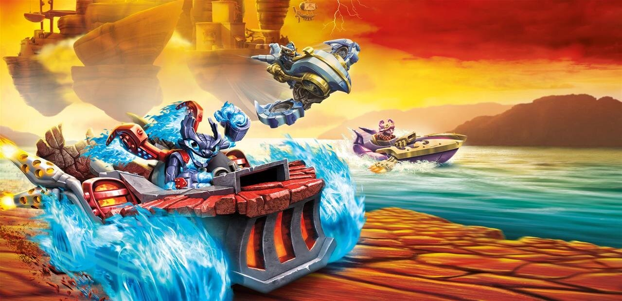#Soldes Skylanders SuperChargers sur Xbox One : 22,99 €