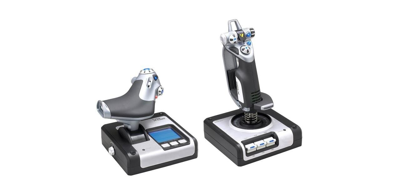 #Soldes Un joystick PC Throttle X52 de Saitek : 79,50 euros