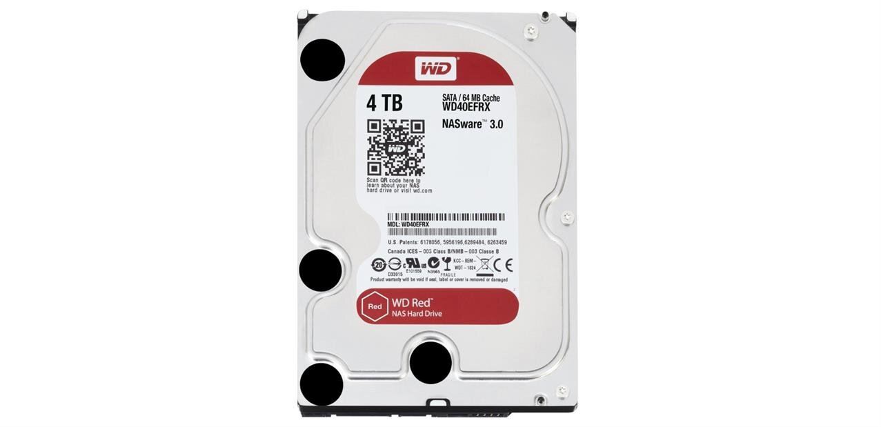 Disque Dur WD Red de 4 To : 142,88 €