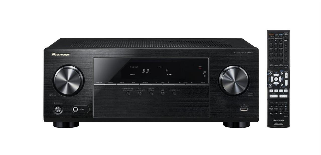 Ampli home cinema 5.1 Pioneer VSX-330-K (5x 105 watts) : 179,46 €