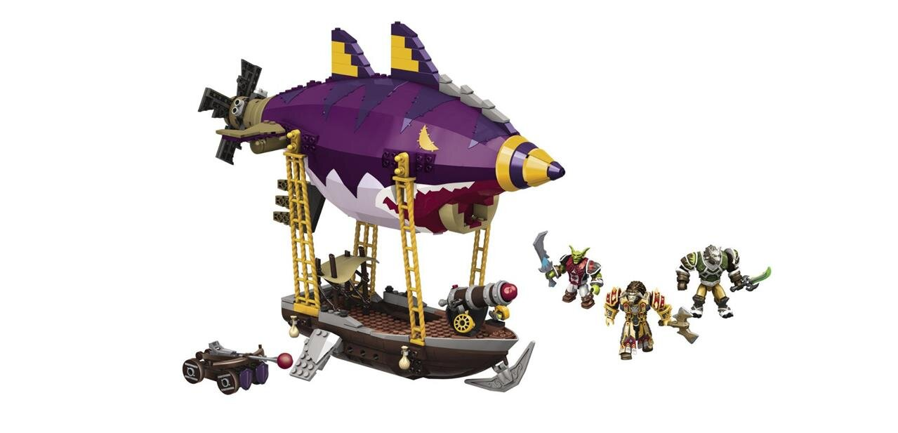 #Soldes Megabloks World of Warcraft Zeppelin Gobelin : 14,99 €