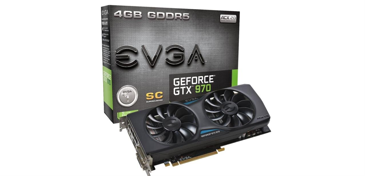 GeForce GTX 970 Superclocked d'EVGA : 235,31 € via une ODR