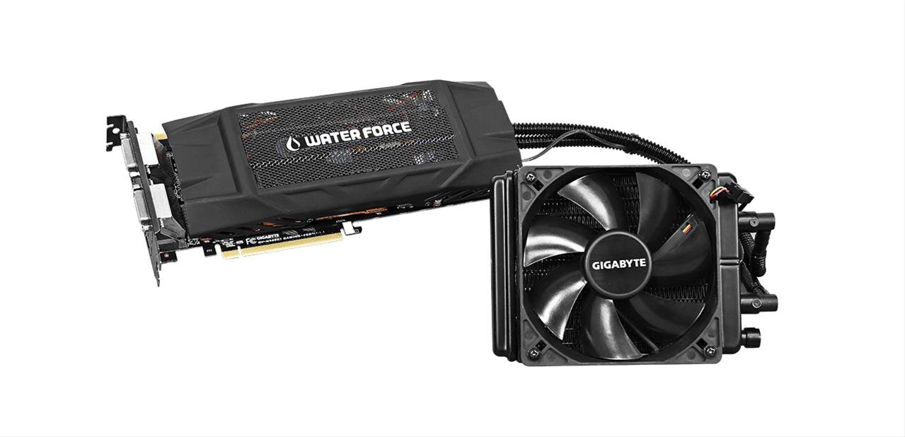 #Soldes Carte graphique Gigabyte GTX 980 WaterForce à 341,91 €