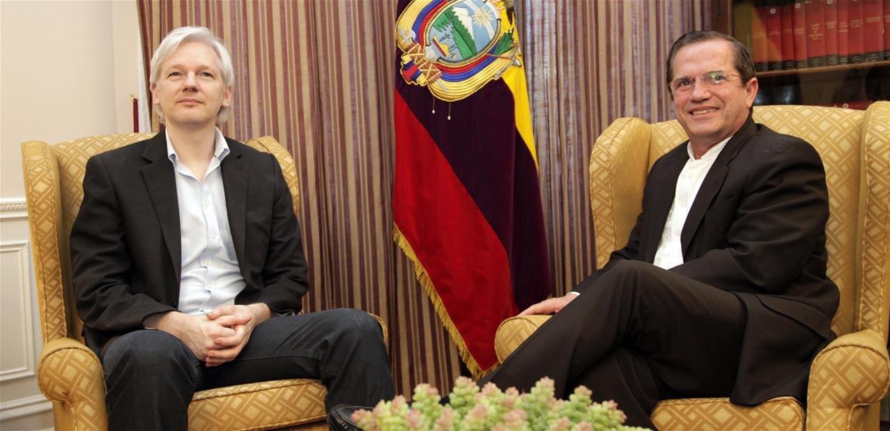 Julian Assange attaque l'Équateur pour ses conditions de « détention »
