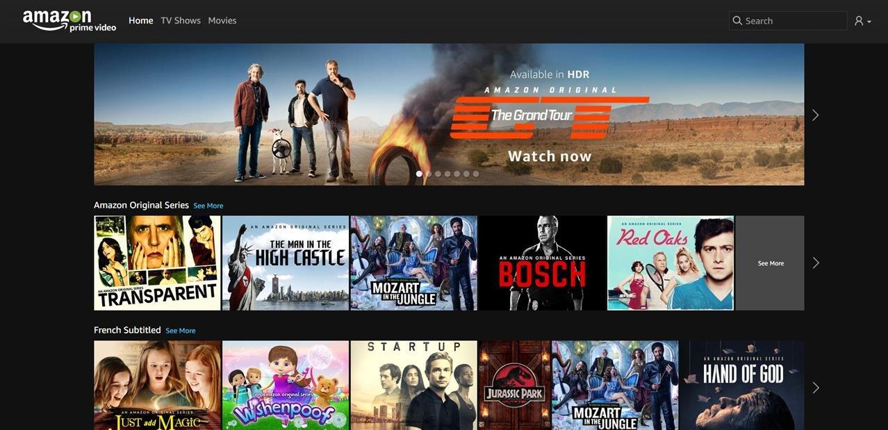 Amazon lance son offre de VOD en France, l'interface de Prime Video parfois moins pratique