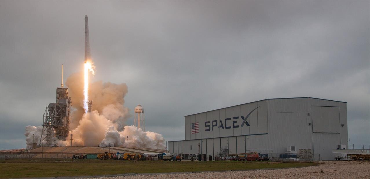 Deux lancements réussis par SpaceX ce week-end : CRS-14 (vers l'ISS) et Iridium-5