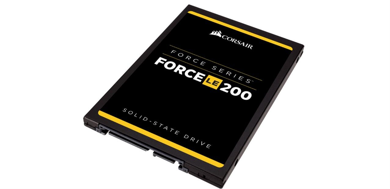 SSD Corsair Force LE200 de 480 Go à 122,11 euros