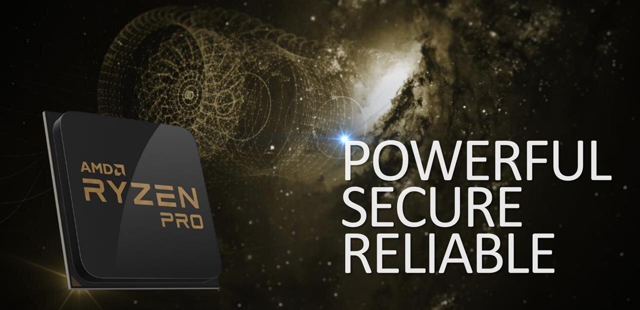 AMD dévoile de nouveaux Ryzen Pro et vante ses partenariats