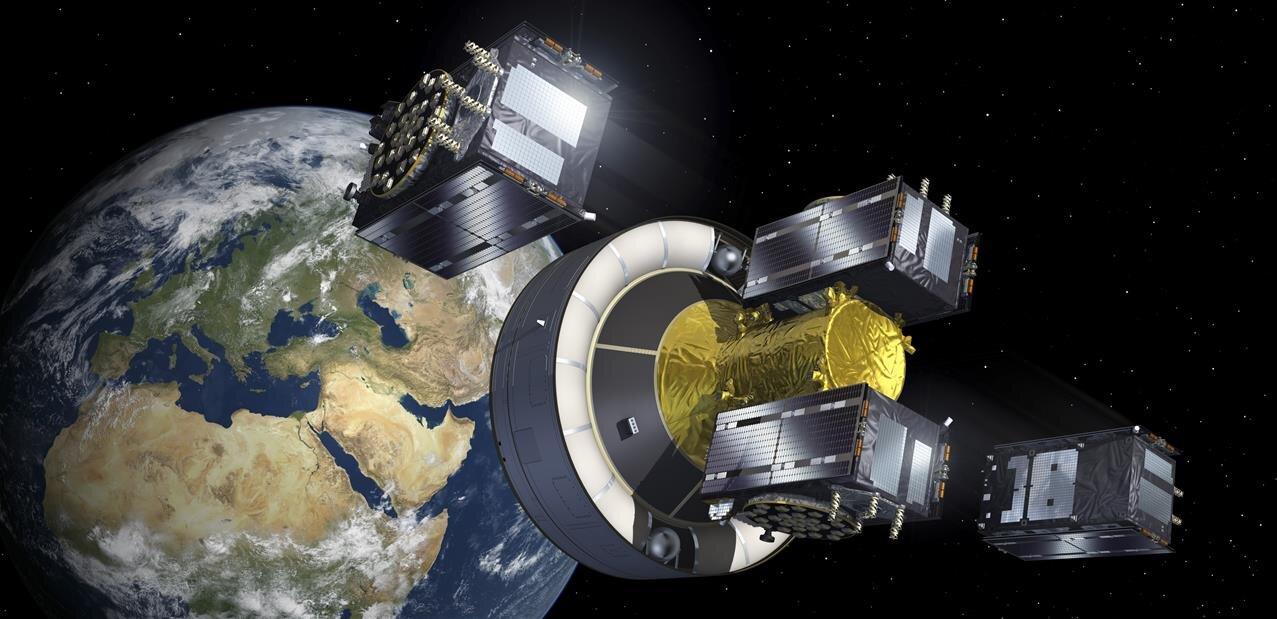 Quatre nouveaux satellites Galileo en place, SpaceX retarde son lancement