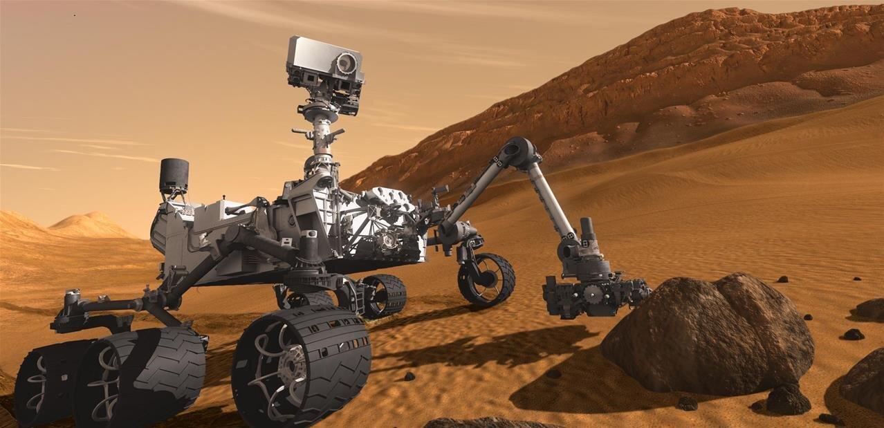 Sur Mars, Curiosity a trouvé des traces « d'une ancienne oasis »