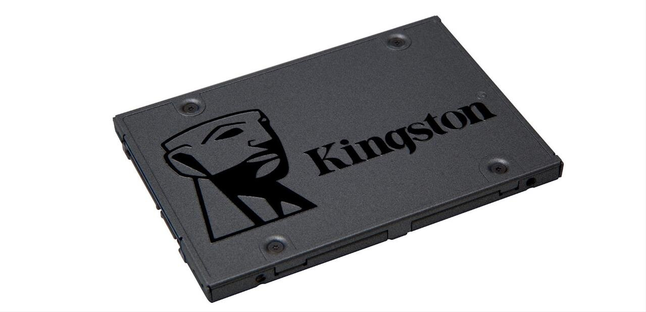 Un SSD Kingston A400 de 120 Go à 33,23 euros