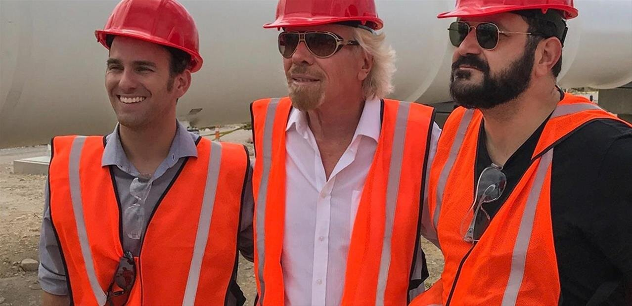 Virgin Hyperloop : Richard Branson président, 50 millions de dollars de plus, un test à 387 km/h