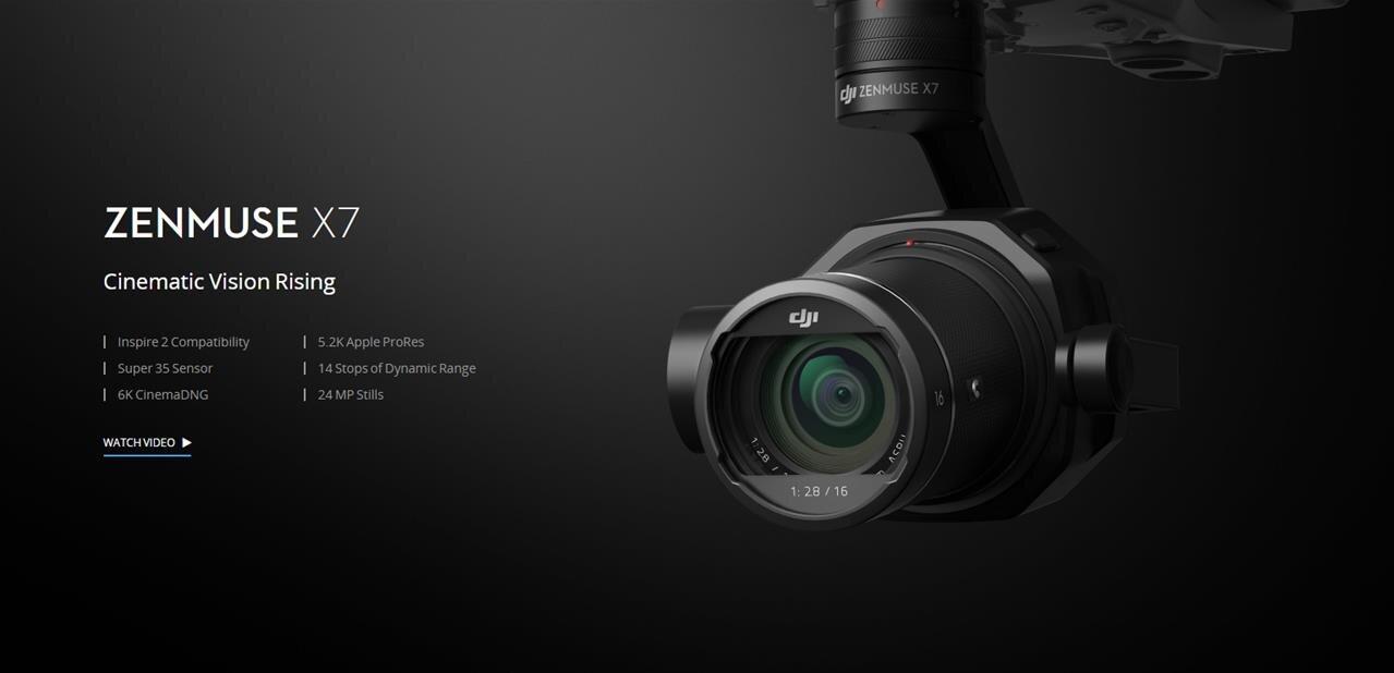 DJI : une caméra Zenmuse X7 pour drone avec objectif interchangeable, pour… 2 699 $