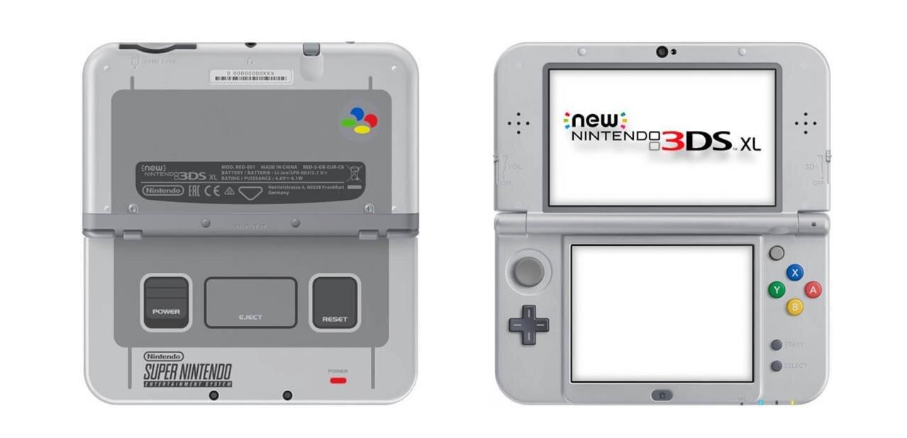 La New Nintendo 3DS XL édition SNES est disponible