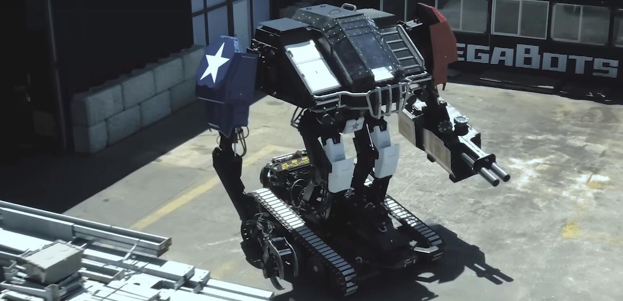 Vous aimez les combats de robots géants ? Les USA affrontent le Japon