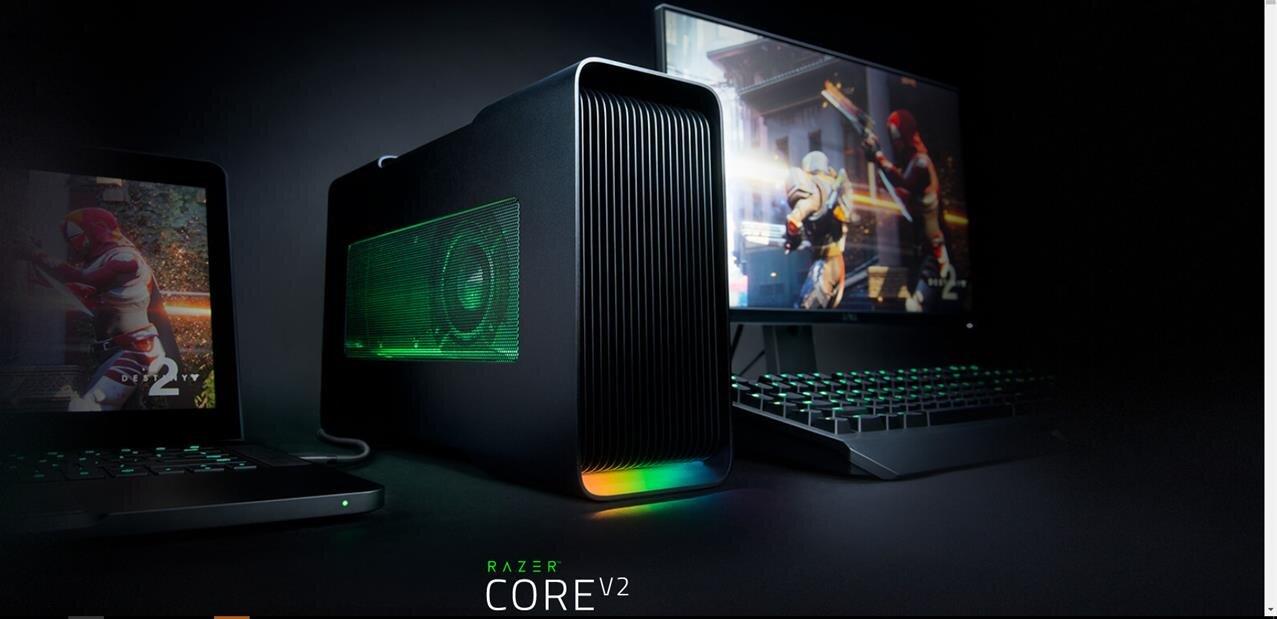 Razer : Core v2 pour GPU externe, Core i7 de 8ème génération pour le Blade Stealth