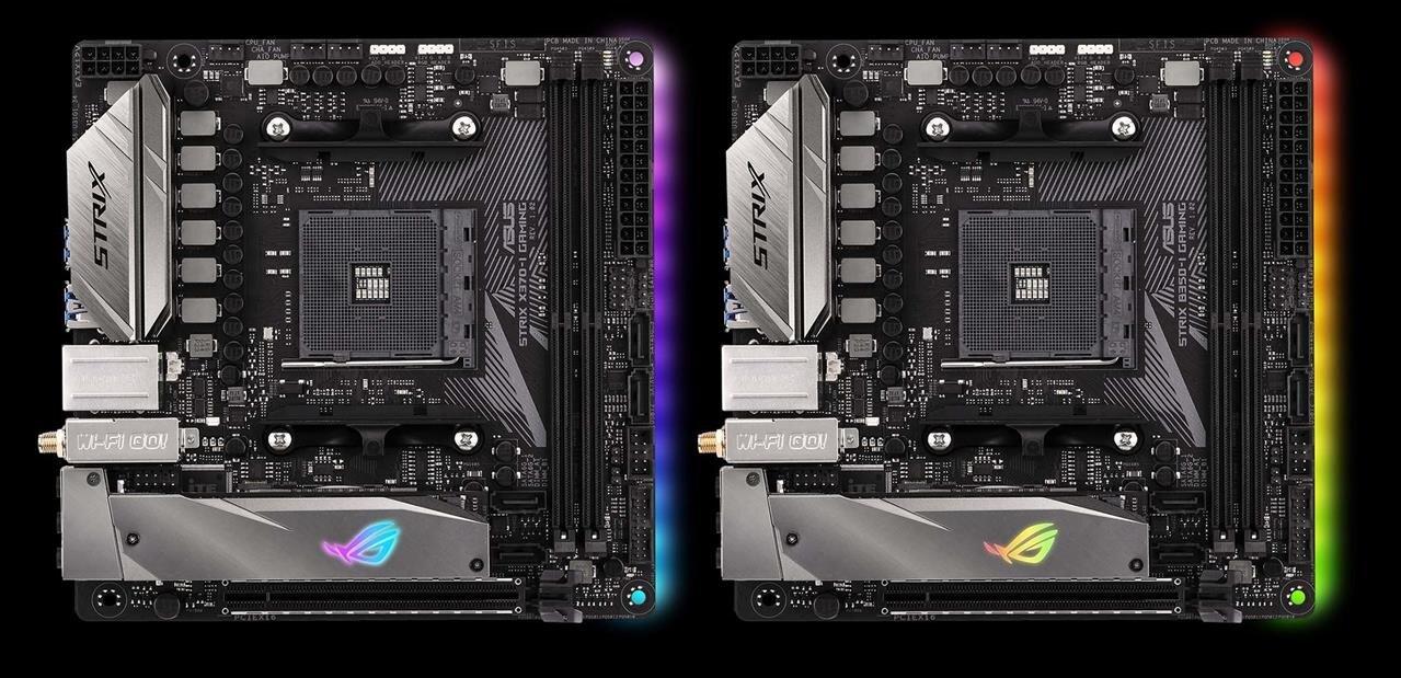 Du mini-ITX pour Ryzen (AM4) chez ASUS avec les Strix X370-I et B350-I