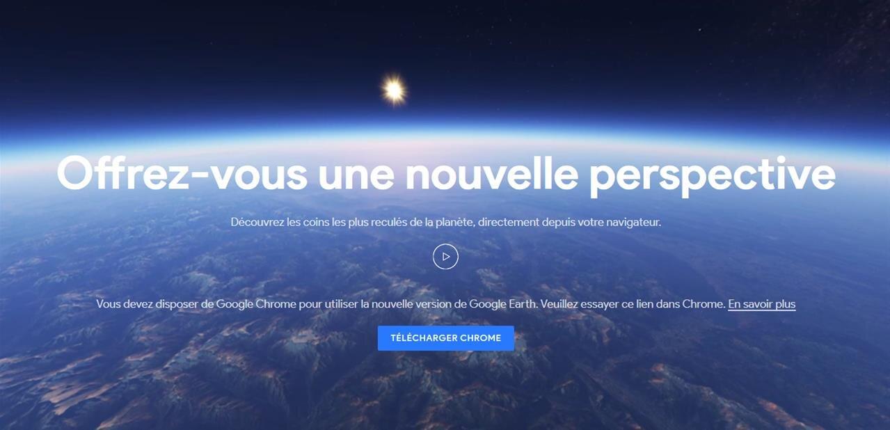 Google Earth passe en WebAssembly et devient compatible avec tous les navigateurs