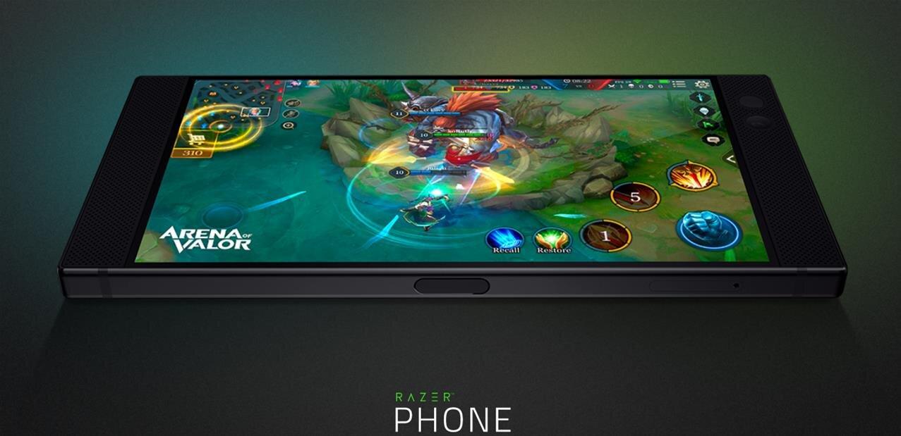Razer Phone : écran 120 Hz de 5,7 pouces et 8 Go de RAM, pour 749 euros