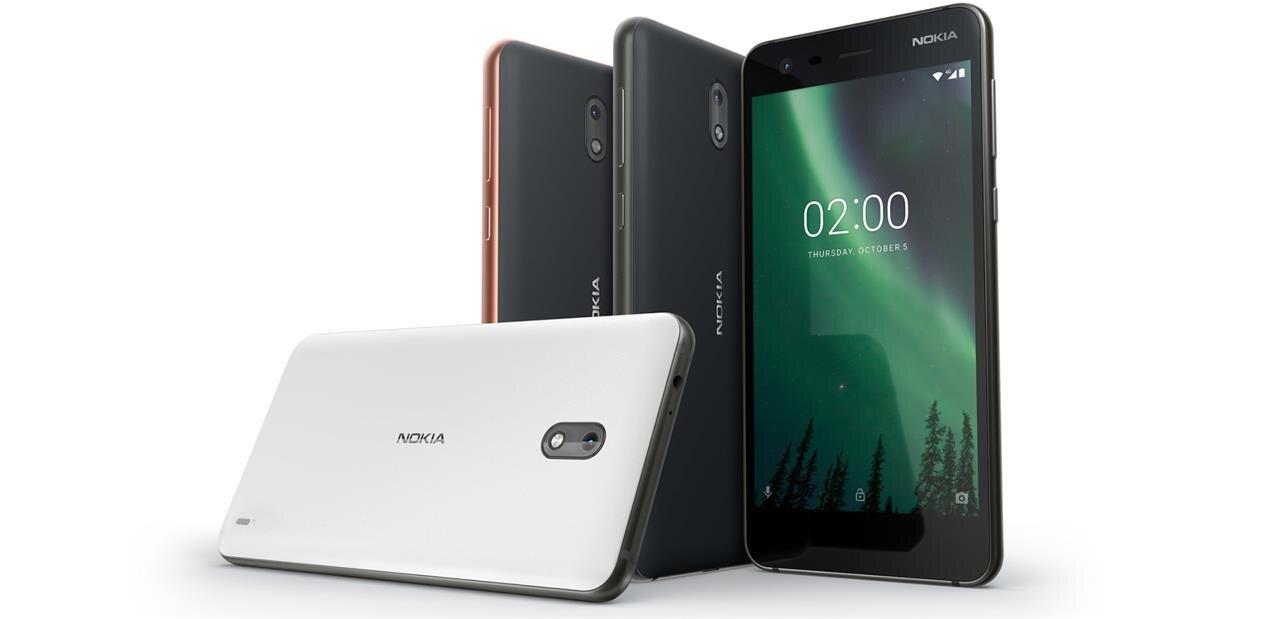 HMD dévoile son Nokia 2, un smartphone 4G de 5 pouces pour 99 euros