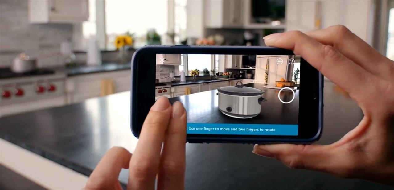Au tour d'Amazon de proposer de la réalité augmentée pour vendre ses produits