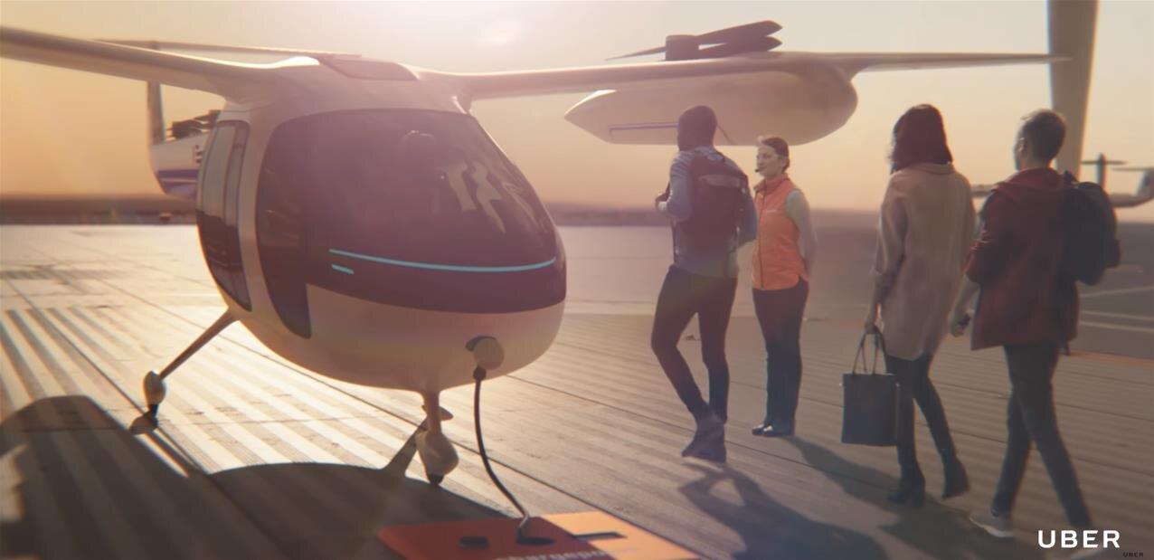 UberAir : nouvel accord avec la NASA, des indications sur les tarifs du taxi volant