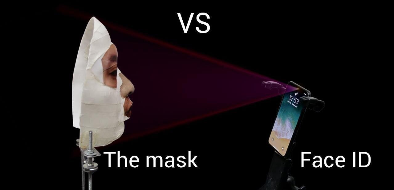 iPhone X : Face ID aurait été mis en échec par un masque 3D